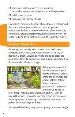 Page 28 - 2985-Florida's-Guide-to-Aging-Drivers-(EnglishOnly